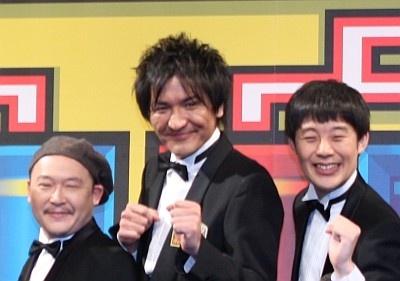 【写真】スリムクラブ真栄田が主役になるか!?爆笑記者会見の様子