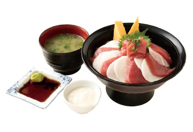 大和芋とマグロの赤身で、日本代表のユニフォームを表現