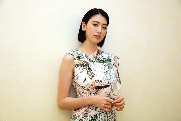 『ダンスウィズミー』の主演を務めた三吉彩花