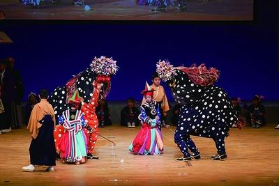 9/23(祝)に佐賀市文化会館で行われる「第2回 佐賀県伝承芸能祭」