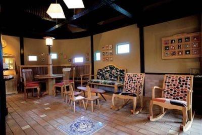 10席ある「たまカフェ」は待ち合わせに便利♪