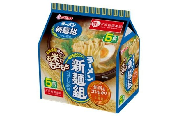 【画像】コクしお味のパッケージのほか、関東甲信地区で放映されるCM「変わった篇」も