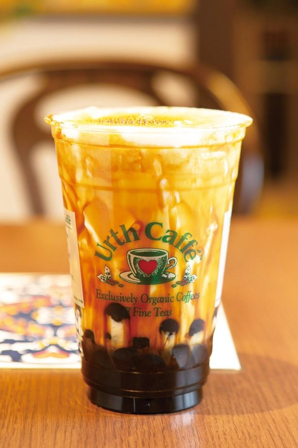 「チージー黒糖ボバ」(680円) / Urth Caffe(アース カフェ) 星が丘テラス店