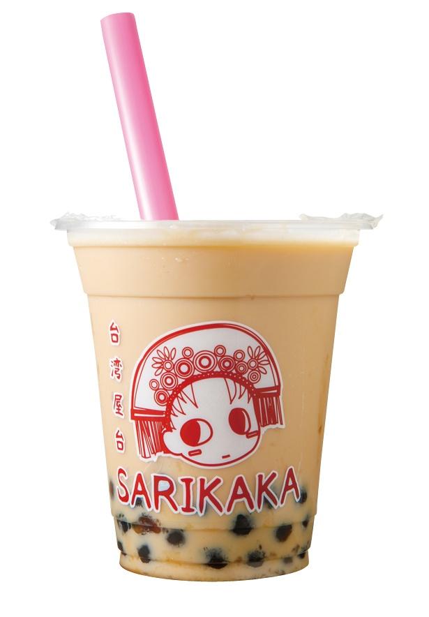 「台湾アッサムミルクティー」(380円) / 台湾屋台SARIKAKA(サリカカ)
