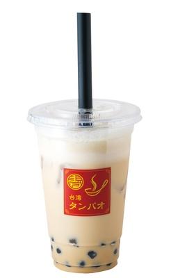 「ミルクフォームティー」(450円) / 台湾タンパオ
