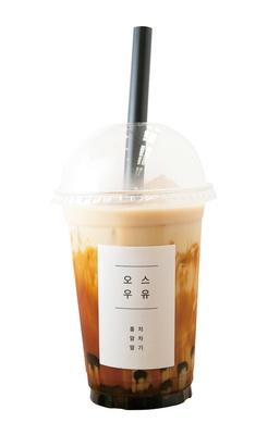 「黒糖ミルクタピオカ」(500円) / Tappy(タッピー)