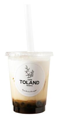 「黒糖タピオカミルク」(580円) / CAFE TOLAND(カフェ トゥーランド)