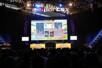 今年で3回目となる東京ゲームショウのeスポーツ競技会「e-Sports X」