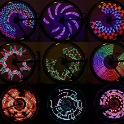 【画像】ド派手な発光パターンは9種類! 色や点等速度をカスタマイズすることもできる