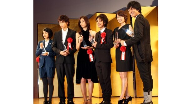 新人賞を受賞した期待の俳優陣