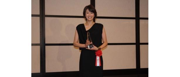 新人賞を受賞した吉瀬美智子は4月から主演ドラマ「ハガネの女 season2」がスタート