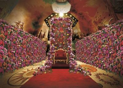 色鮮やかな大輪のダリアが咲き誇る ※写真はイメージ