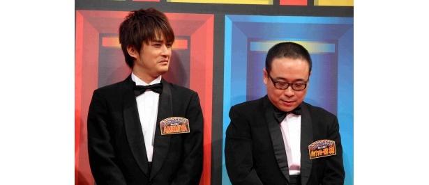 対戦相手は尊敬する先輩、バッファロー吾郎・木村明浩。「胸を借りるつもりで頑張りたい!」