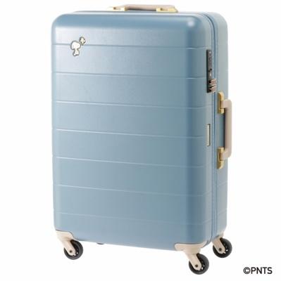 【写真を見る】「トロトゥール スヌーピー スーツケース」(2万5920円)※ブルー/サイズ:W47×W66×D23cm