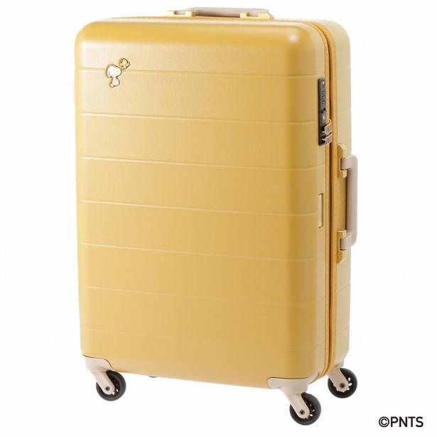 「トロトゥール スヌーピー スーツケース」(2万5920円)※イエロー/サイズ:W47×W66×D23cm