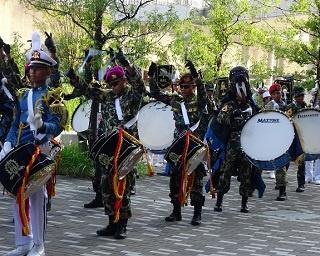 華麗なるマーチングバンドも登場!イオンモール堺鉄砲町でインドネシアイベントを開催