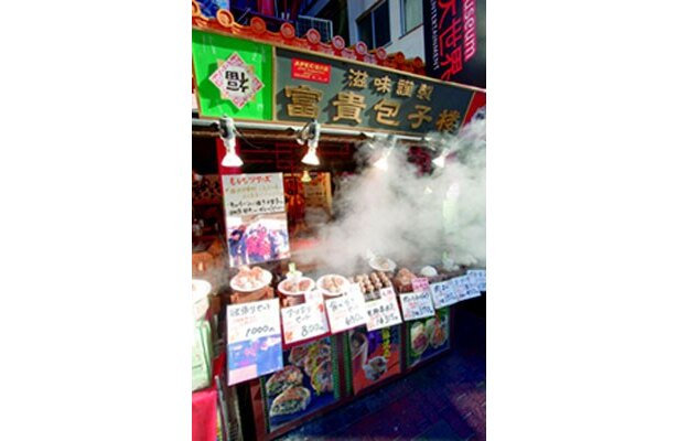 飲茶の人気店「富貴包子楼」。スープ餃子は寒い季節にぴったり