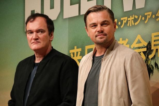 『ワンス・アポン・ア・タイム・イン・ハリウッド』でレオとタランティーノ監督が来日