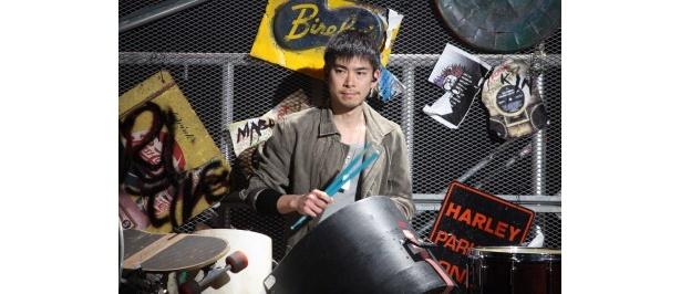 【写真】ブロードウェイで活躍するルーディメンタル・スネオドラマーの石川直