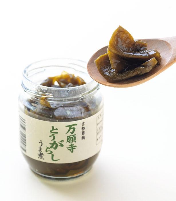 「夢や」の 万願寺とうがらし うま煮(540円)/道の駅 舞鶴港 とれとれセンター