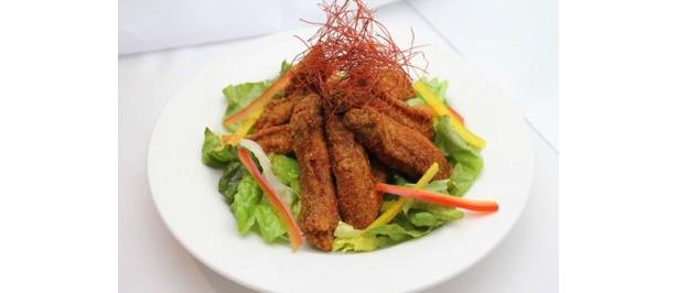 朝鮮唐辛子と山椒の香りが食欲をそそる「レッドコリアン ウィングフライ」