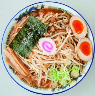 旭川らぅめん 青葉の新作ラーメン「スーパー味噌DX2(デラックスツー)」¥990