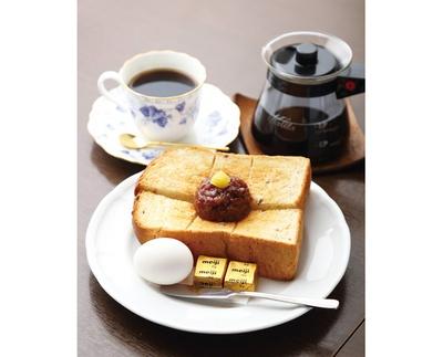 コーヒー代+130円の「名古屋セット」で名古屋のモーニングを堪能しよう! / 加藤珈琲店