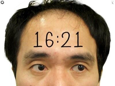 """【画像】江頭2:50がいつもあなたを見つめるている""""顔時計""""はコチラ!"""