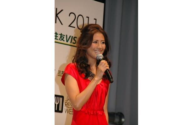 交際中の神田正輝さんとのエピソードも披露。幸せぶりをふりまいてくれた