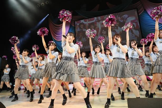 永野芹佳は『夢へのルート』をセンターでパフォーマンス!