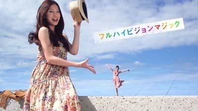 【写真】花柄のワンピースがカワイイ! CM詳細写真はコチラ