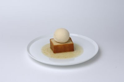夏の豆乳アイスクリームケーキ