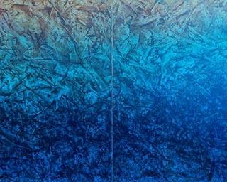 宇田義久「Aquarium 19-1 水源」 2019年
