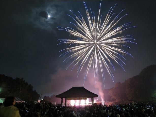第85回 二日市温泉と天拝山観月会 / 秋の満月と花火を共に楽しめる祭り