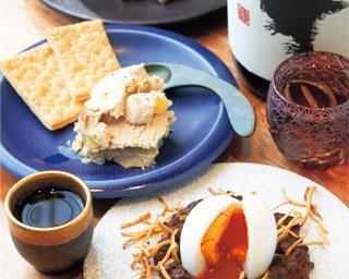 多彩な料理を肴にしておちょこ一杯から気軽に「sake stand ぽん酒マニア」