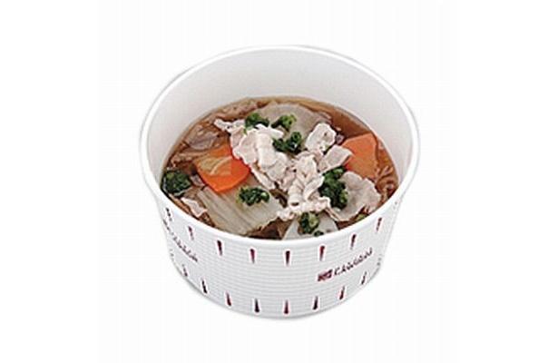 「あっさり和風野菜スープ」(118kcal)