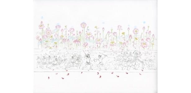 岡野玲子は映画のビジュアルイメージはもちろん、キャラクターのコンセプトにも関わっている