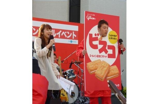 ゴールイン記念ビスケットの「つぶやきビスコ」に!