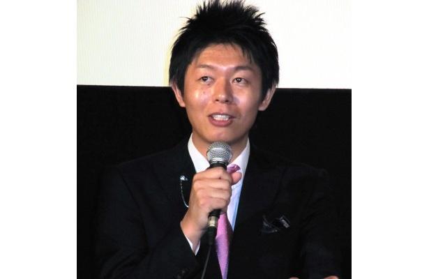「半年後も手相ブームが続いてて欲しい」と自らの未来を語った島田秀平