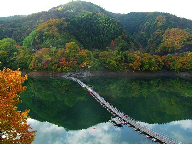 奥多摩湖(東京都西多摩郡奥多摩町)