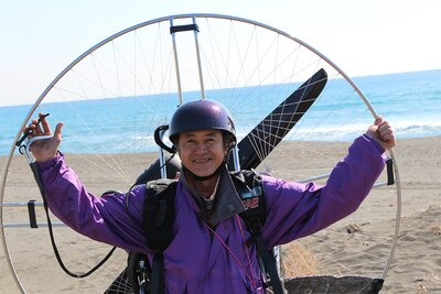 桐井さんのやさしく頼れる人柄もあり、「BLUE AIR PARK」のツアーは今や大人気!