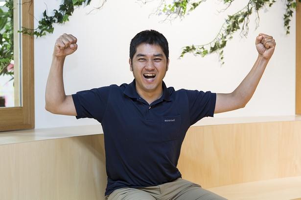SOTOASOBIナビゲーターの木村雄志さん。好きなアクティビティはリバーSUP。取材社数は36都道府県で合計250社以上。特に北海道、沖縄離島のアクティビティに詳しい。