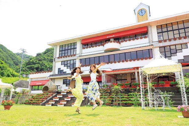 10年に閉校した小学校を再生。地元民の憩いの場でもあり、夏には盆踊り大会も開催される/のじまスコーラ