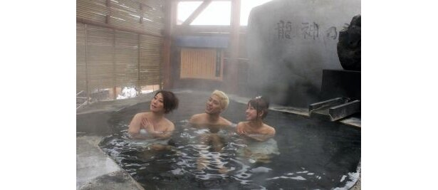大石風呂「龍神の湯」