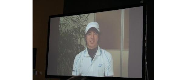 アメリカ遠征中の石川遼選手はビデオメッセージでコメント
