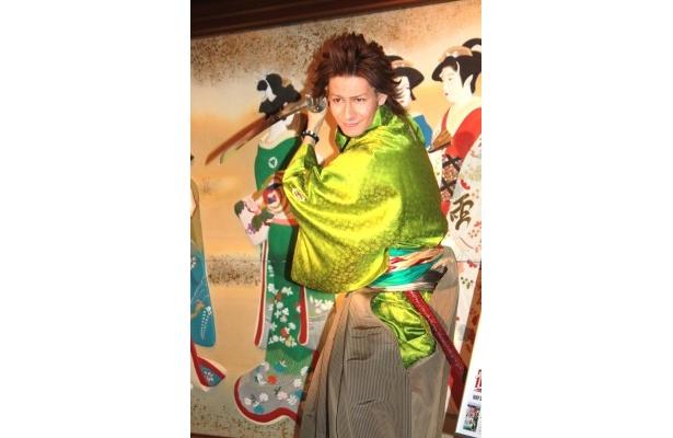 「好きな侍は武田信玄。侍だっけ?」と、おとぼけ発言で会場を沸かせた