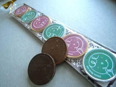 小田急百貨店オリジナルのチョコ