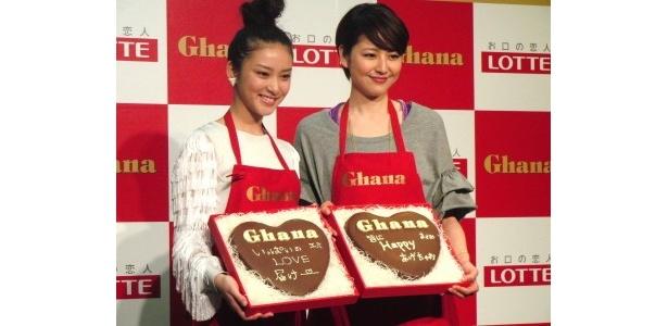 【写真】長澤と武井はそれぞれバレンタインの思い出話を披露