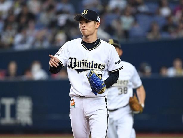 今シーズン、すでに2けた勝利でチームに貢献している山岡泰輔投手