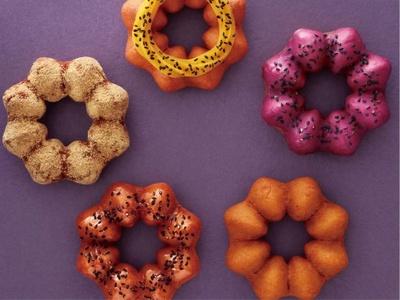 ミスタードーナツの秋の新商品「さつまいもド」5種類
